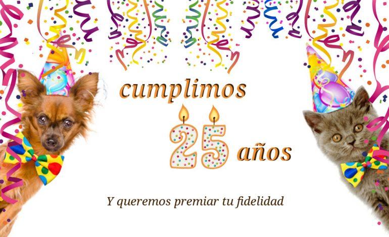 25 aniversario clínica veterinaria