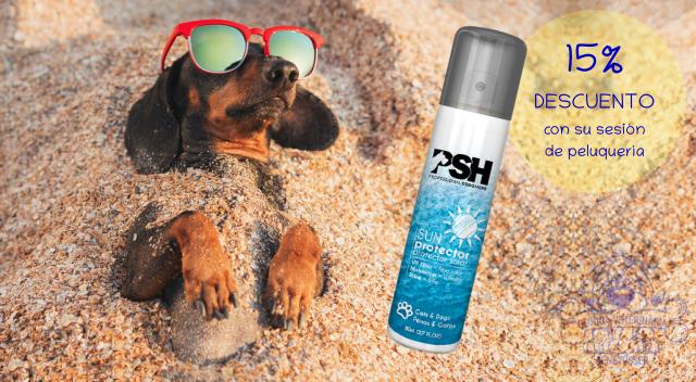 Protector solar Acondicionador Invisible Protector en Spray de PSH 15%de descuento